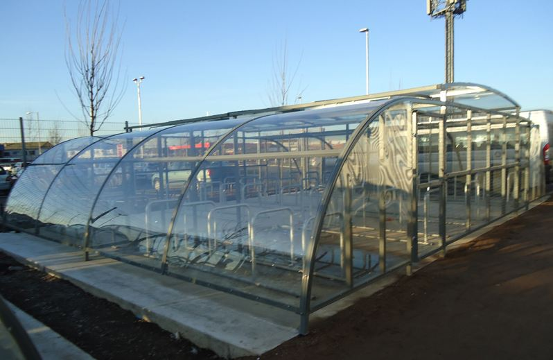 cycle shelters and enclosures