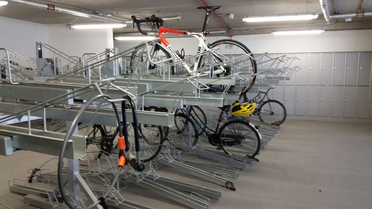 TWO-TIER-BIKE-SHELTERS-IMPROVING-WORKSPACE