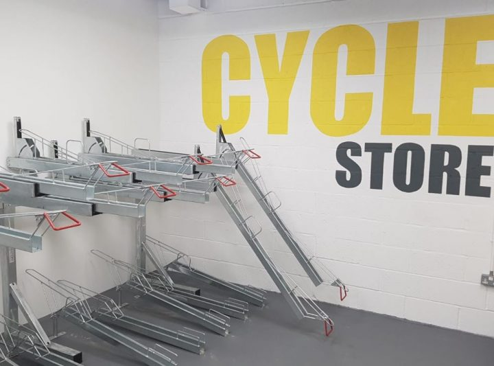 Two Tier Bike Racks
