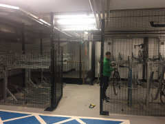 The BDS Bike Cage