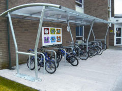 Canterbury Cycle Shelter