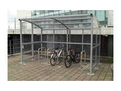 Prestige Cycle Shelter & Bike Stands