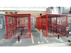 Square Bike Shelter