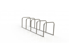 The Toastrack in Stainless Steel (4-12 bikes)