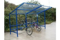 Lightweight bike shelter