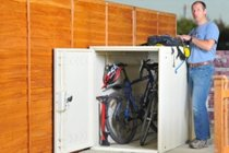 Brighton Twin Cycle Locker