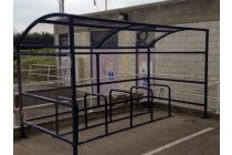 Bristol Bike Shelter & Bike Stands