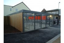 Eastbourne Cycles Enclosure (80 Bike Parking Spaces)