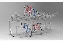 Value Two Tier Bike Rack (BDS)