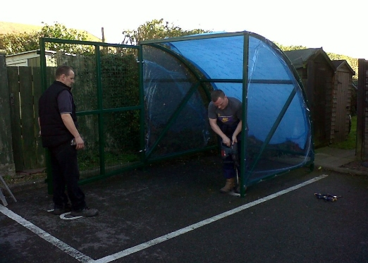 secure Mini BDS Shelter