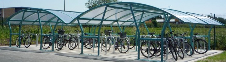 Bike Shelters & Storage