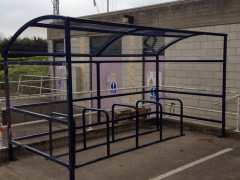 Bristol Bike Shelter & Bike Stands