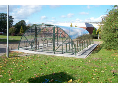 BDS Shelter - 40 Space Enclosure & Bike Stands