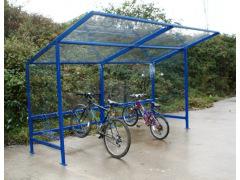 Lightweight bike shelter